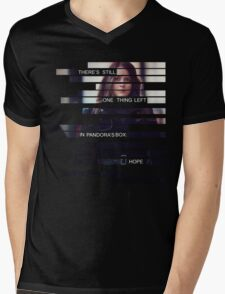 Root - Person of Interes - Quote Mens V-Neck T-Shirt