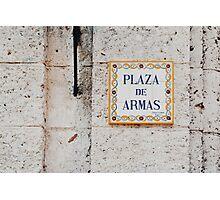 Plaza de Armas (Havana) Photographic Print