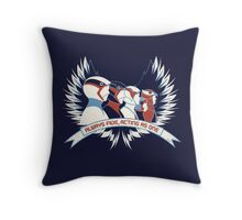 Always Five, Acting As One. Throw Pillow