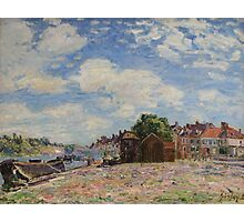 Alfred Sisley - The Loing at Saint-Mammes 1885 French Impressionism Landscape Photographic Print