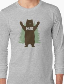 Bear Hug (Reworked) Long Sleeve T-Shirt