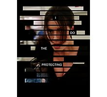 Shaw - Person of interest - Quote Photographic Print