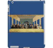 THE DOCTOR'S LAST SUPPER  iPad Case/Skin