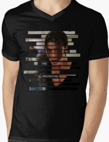 Shaw - Person of interest - Quote Mens V-Neck T-Shirt