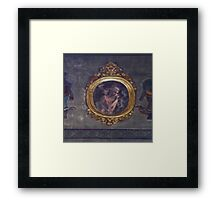 Ghost in the mirror Framed Print