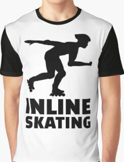 Inline skating Graphic T-Shirt