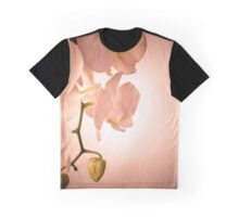 Orchid in Peach Graphic T-Shirt