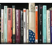 Joy Division Bookshelf Photographic Print