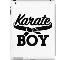 Karate boy iPad Case/Skin
