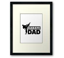 Karate Dad Framed Print