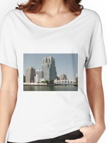 Waterfront Tokyo, Japan Women's Relaxed Fit T-Shirt