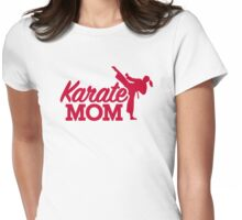 Karate Mom Womens Fitted T-Shirt