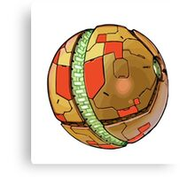 Samus' Morph Ball Canvas Print