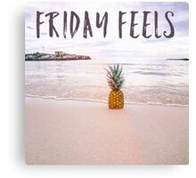 Friday feels Canvas Print