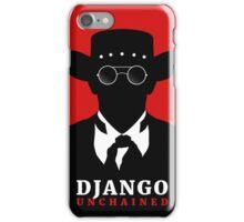 Django Unchained film poster iPhone Case/Skin
