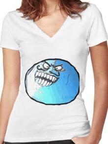 MEME Women's Fitted V-Neck T-Shirt