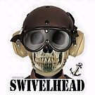 SWIVELHEAD - NAVY AIRDALE by Kowulz