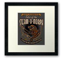 STEAM-O-MORPH Framed Print