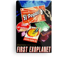 Visions of the future- First Exoplanet Metal Print
