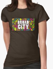Broad City #3 Womens Fitted T-Shirt