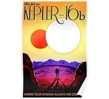 Visions of the future- Kepler-16b Poster
