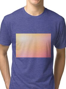 Gradient Triangle Abstract 9 Tri-blend T-Shirt