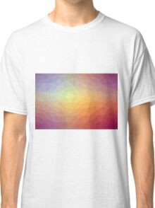 Gradient Triangle Abstract 10 Classic T-Shirt