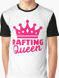 Rafting queen Graphic T-Shirt