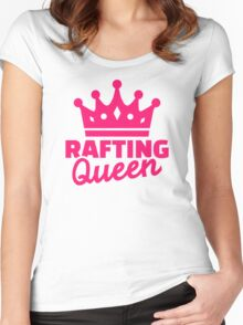 Rafting queen Women's Fitted Scoop T-Shirt