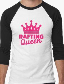 Rafting queen Men's Baseball ¾ T-Shirt