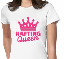 Rafting queen Womens Fitted T-Shirt