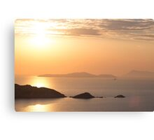 Amazing Sunset - Travel Photography Canvas Print
