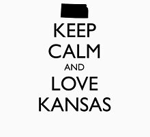 KEEP CALM and LOVE KANSAS Unisex T-Shirt