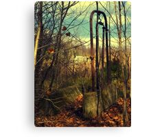 Abandoned - rusted farm equipment (2009) Canvas Print