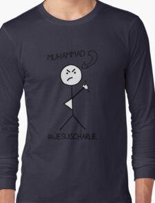 I drew Muhammad - #JeSuisCharlie Long Sleeve T-Shirt