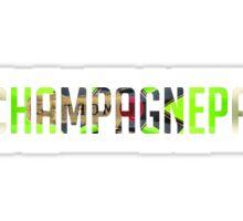 Champagne Papi - Drake - Champagne Sticker