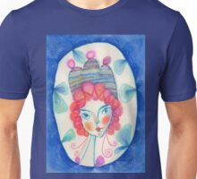 Dragonfly with blue aura Unisex T-Shirt