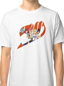 Fairy Tail Crew Red Classic T-Shirt