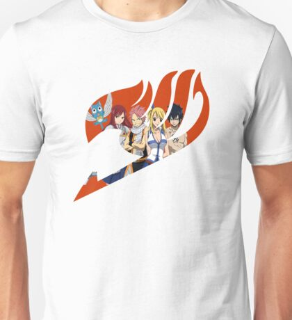 Fairy Tail Crew Red Unisex T-Shirt