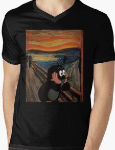 The scream Mens V-Neck T-Shirt