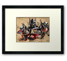 Transformers - Optimus Prime Framed Print