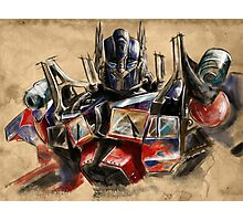 Transformers - Optimus Prime Photographic Print