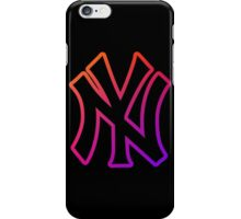 NY Fade Outline iPhone Case/Skin