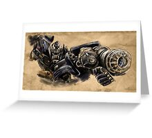 Transformers - Ironhide Greeting Card