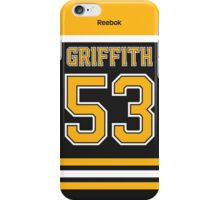 Boston Bruins Seth Griffith Jersey Back Phone Case iPhone Case/Skin