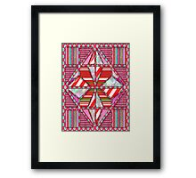 Fashion country parrot style  Framed Print