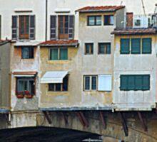 Ponte Vecchio - left side Sticker