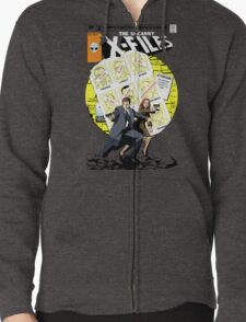 The Uncanny X-Files Zipped Hoodie