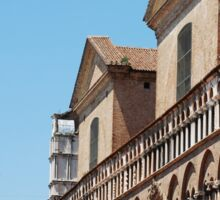 Buildings in Piazza Trento e Trieste, Ferrara Sticker