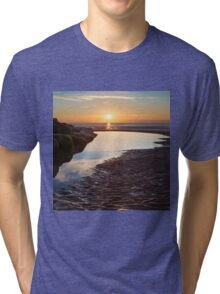 Ripples in the sand Tri-blend T-Shirt